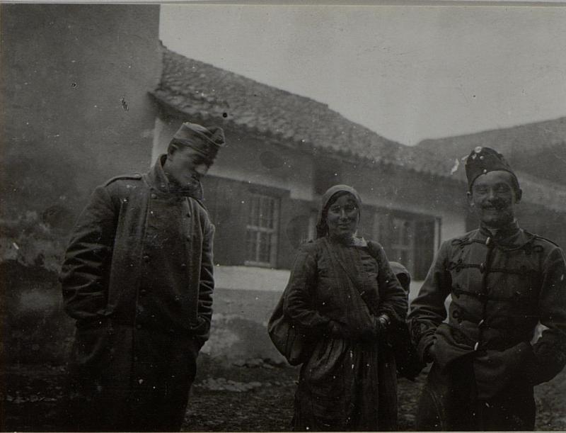 Ansichten und Strassenscenen in NOVIBAZAR. Aufgenommen im Februar 1916.