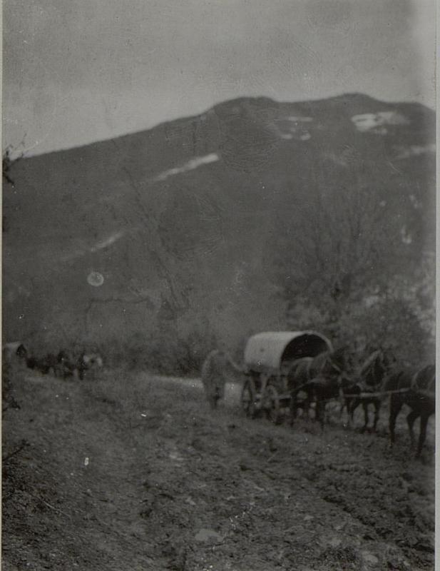 Ansichetn aus NOVIBAZAR. Aufgenommen im Februar 1916.
