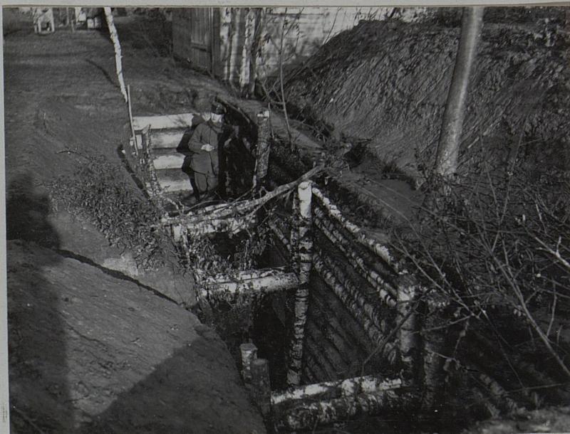 Befestigte Unterkünfte (Fuchsloch) im Norden von Alexandrowka