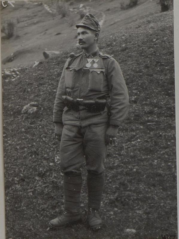 Zugsführer ZORNIG Alois, Feldjäger Bataillon Nro. 20. Besitzer der goldenen Tapferkeits Medaille.