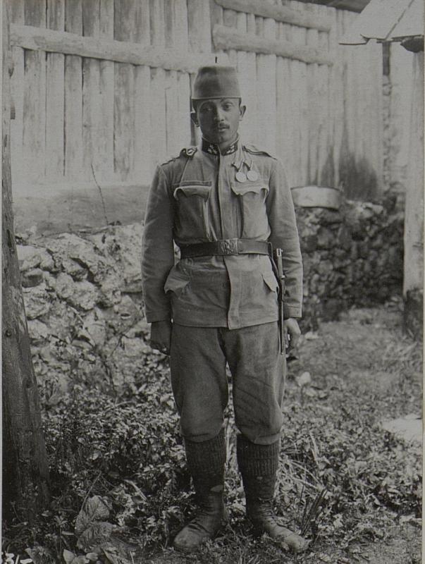 Zugsführer MUHAREM Meholic des k.u.k bosn.herceg.Inf. Regiments Nro.2, 9. Kompagnie.