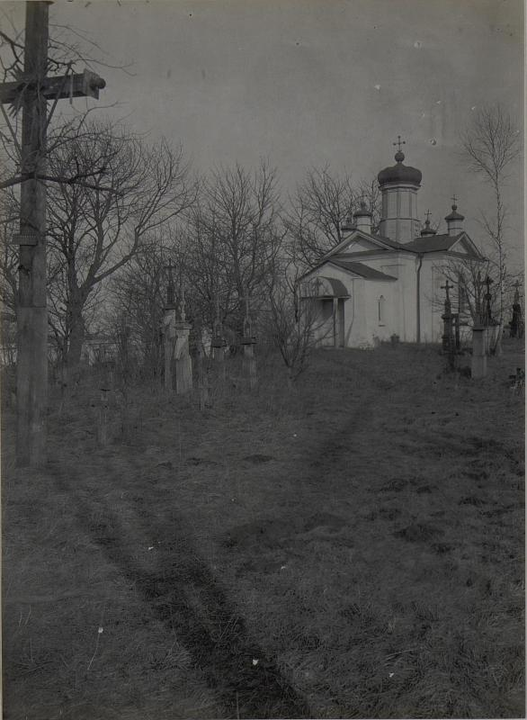 Friedhof-Kapelle von Mikuliczy. März.1918.