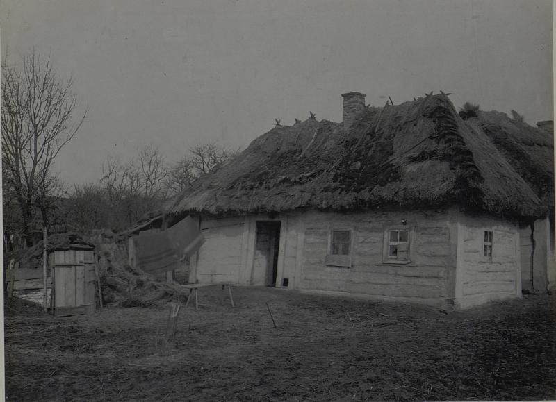 Bauernhaus in Mikuliczy. März.1918