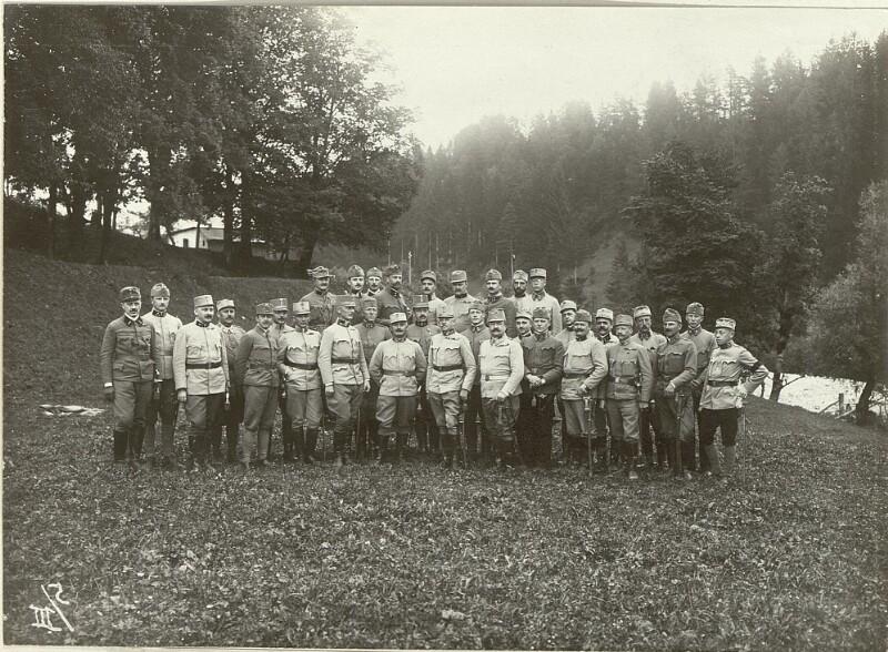 Stab der 92. Infanterie Truppen Division.