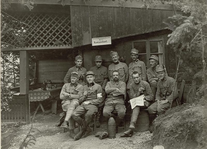 Bataillonskommando des Feldjäger Bataillons Nro. 20.