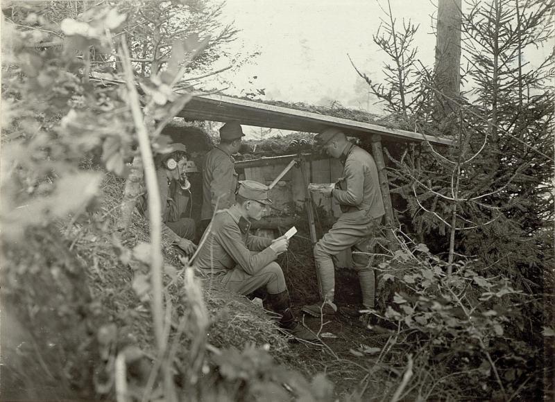 Artillerie Beobachtungsstand Nro.1 auf dem Ravelnik.