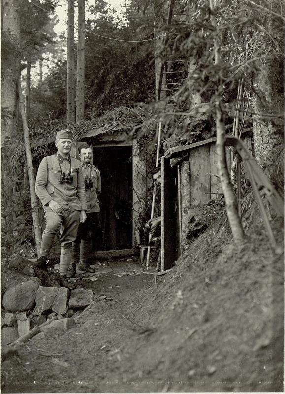 Artillerie Beobachter und Telephonstation Nro.2 am Ravelnik.