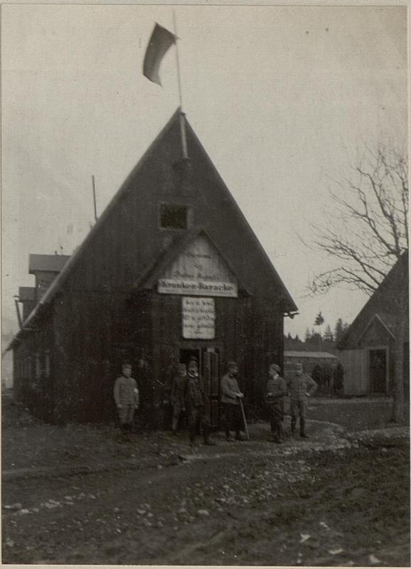 Brigade-Sanitätsanstalt Nr.184 in Tröppolach. 49. ITD. Eingang.