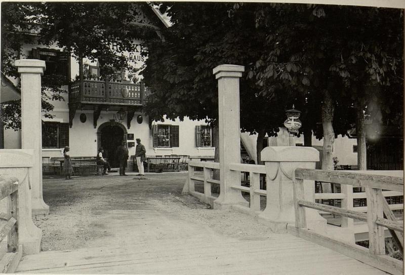 Annabrücke über die Drau bei GRAFENSTEIN. Aufgenommen am 5. August 1916.