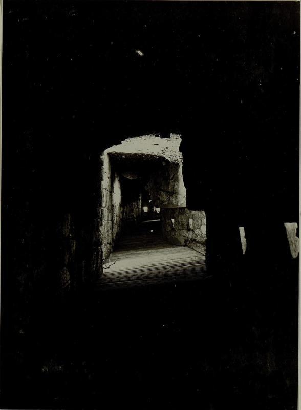 Aus der Infanterie Stellung des Kavernenwerkes KAL. Aufgenommen am 12. Juli 1916.