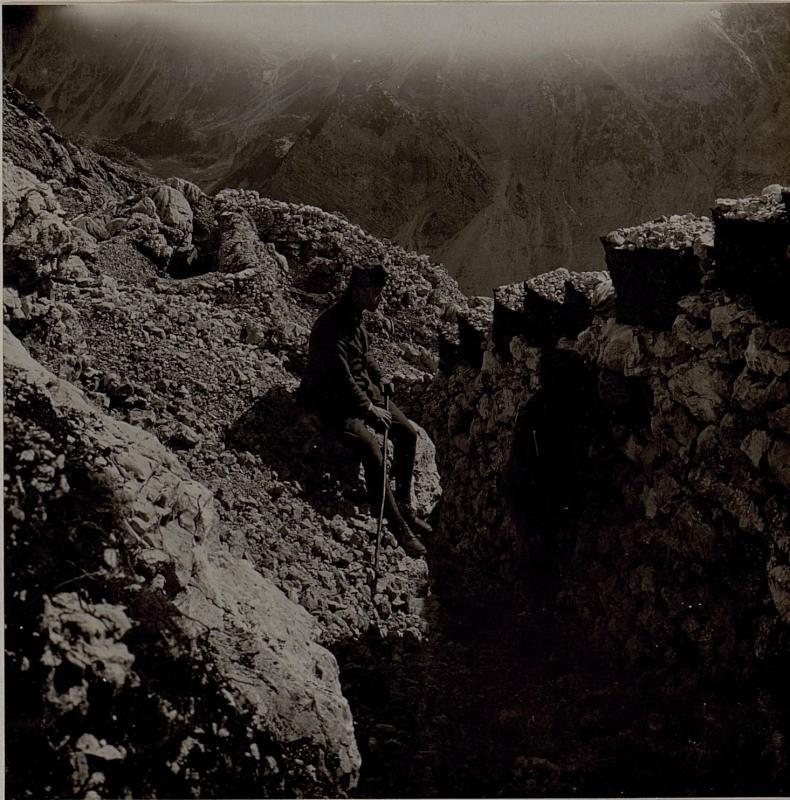 Am Vk.Lemez- Gipfel.