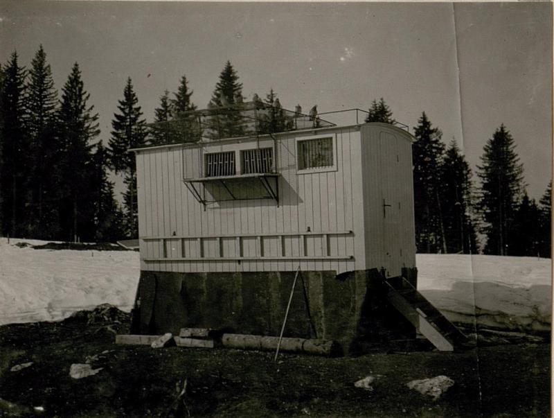 Brieftaubenhaus der 59. Gebirgsbrigade in Rauth.