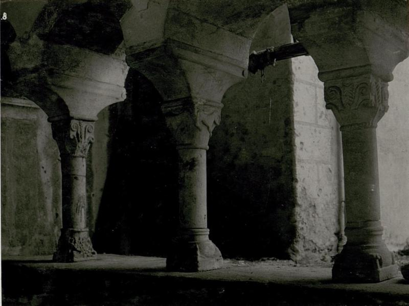 Aufnahme aus dem Kloster Millstatt am Millstättersee.