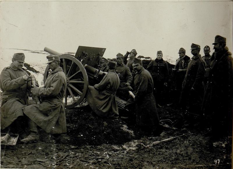 Artilleriestellung Burkanow.
