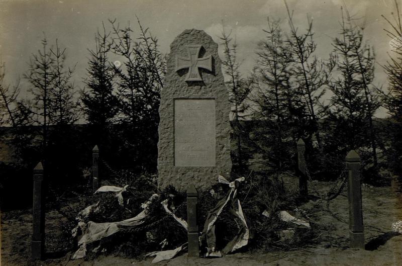 Denkmal für die gefallenen deutschen Helden in Siemikowze.