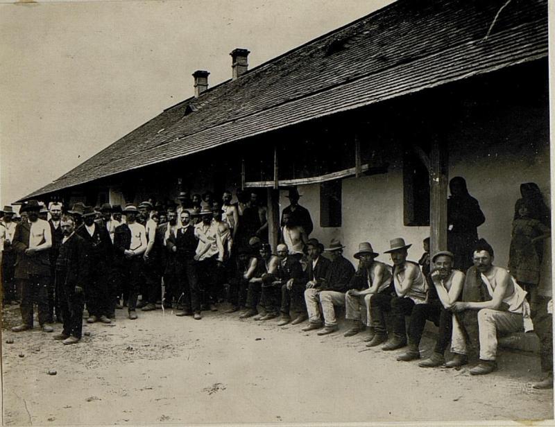 Impfung der Landsturmmänner, Kisvarda.
