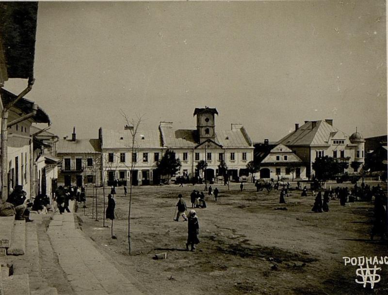 Ansicht von Podhajce.