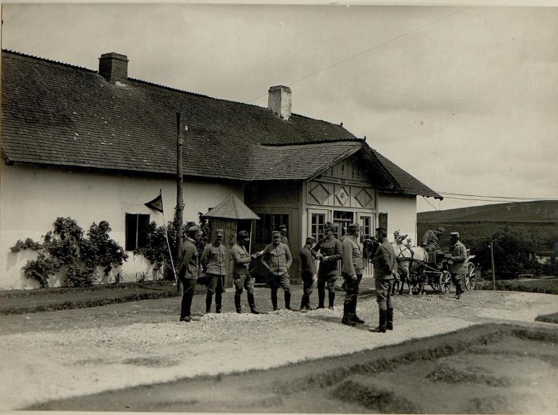 Stab der 55. ITD. in Malowody
