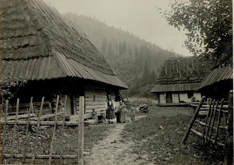Bauernhaus in Horowiecko
