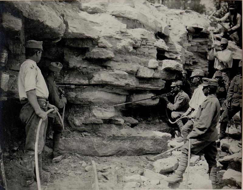 Amerikanische Steinbohrmaschine Lany