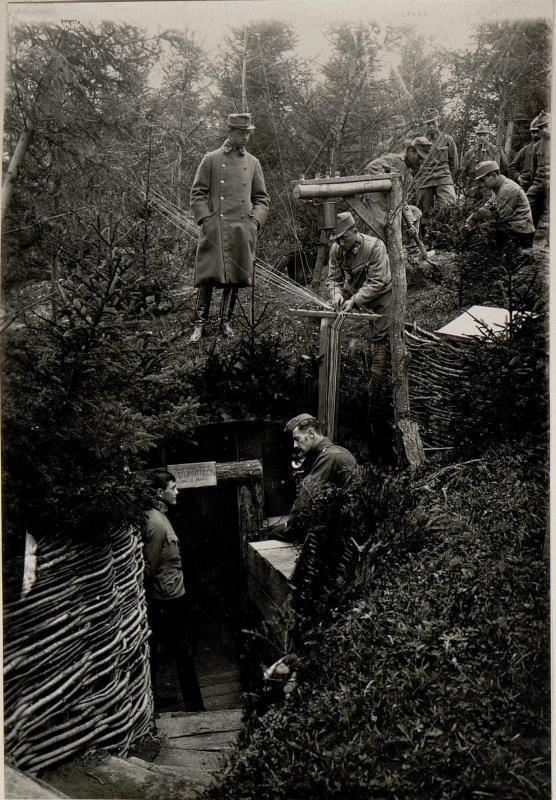 Telefonzentrale im Walde