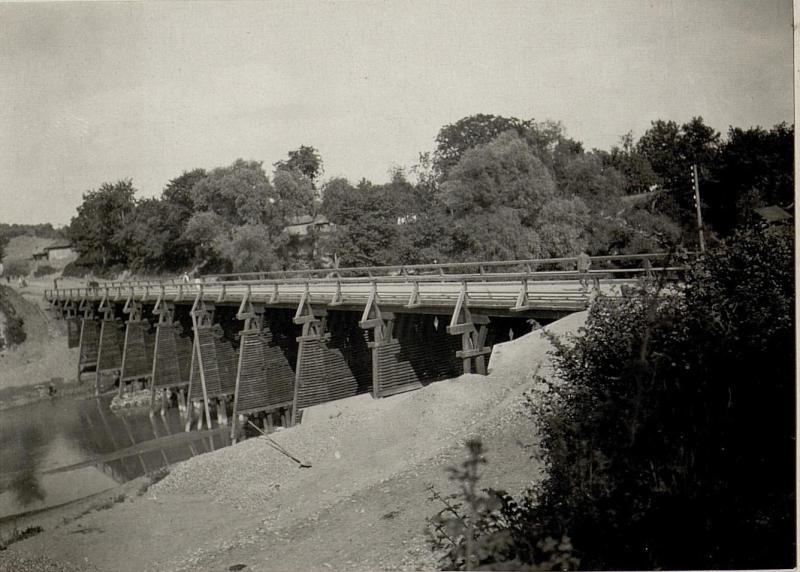 Bazar-Sjak: Die von den k.u.k.Pionieren erbeutete Arzenbrücke.