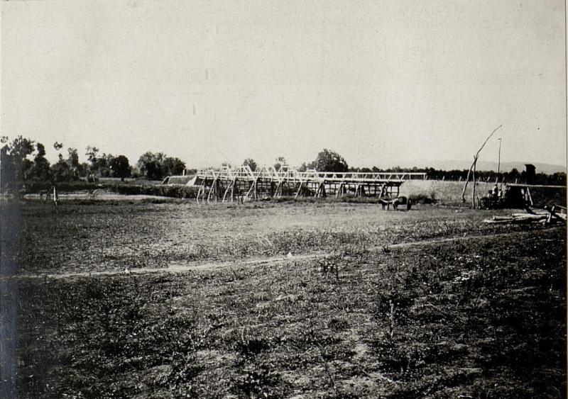 Die Semenibrücke bei Metali (nördlich Fjeri.)
