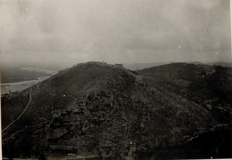 Berat: Beligrad die Festung Alt Berat.