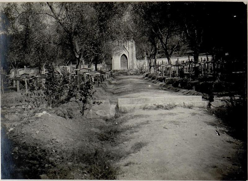 Elbassan: Militärfriedhof.