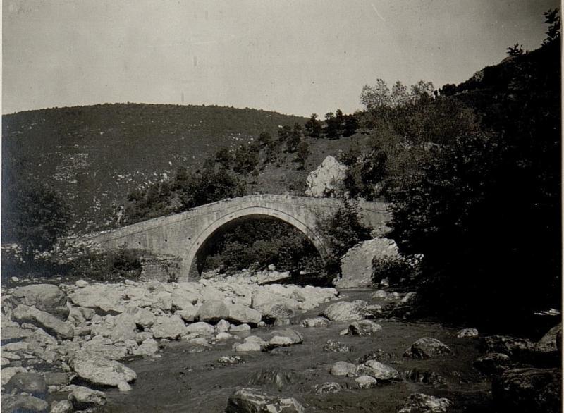 Brücke bei Ljabinoti postme.