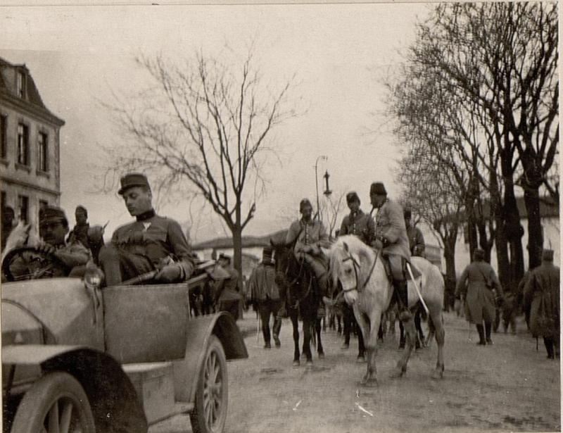 Albanische Reiterei in Skutari