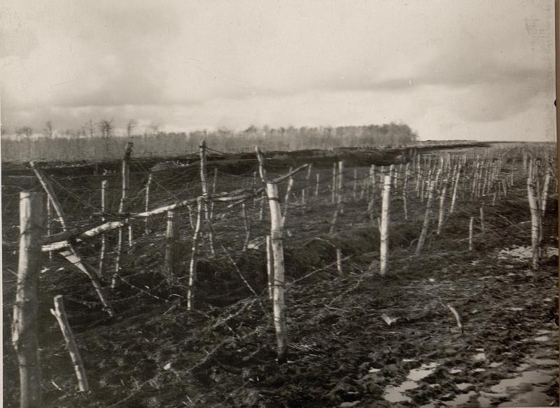 Ansicht der eigenen Front. Aufgenommen am 11.IV.1916. I.R.Nr.60.