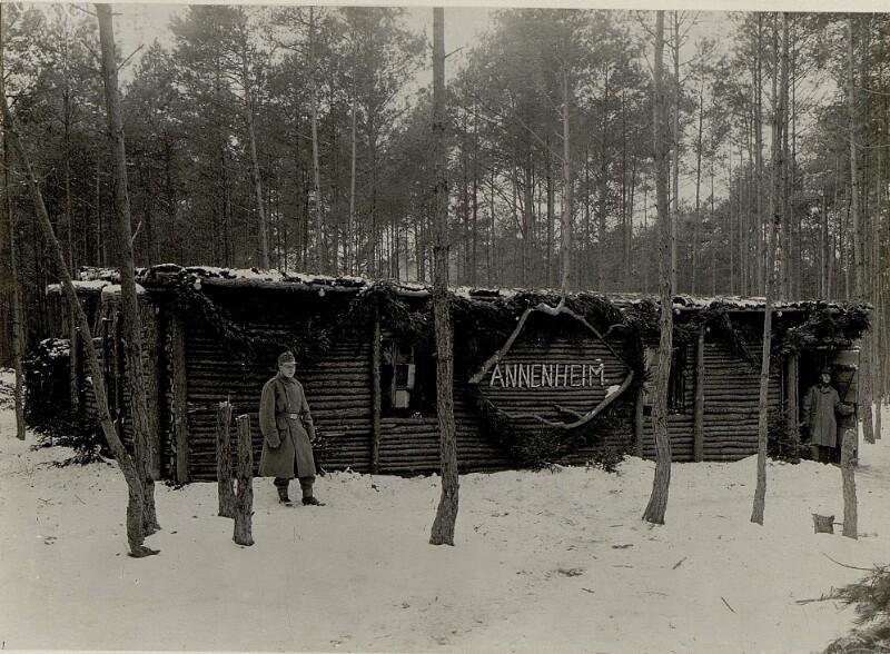 """""""Annenheim""""als Unterkunft des 49.Inf.Brig.Kmdo."""