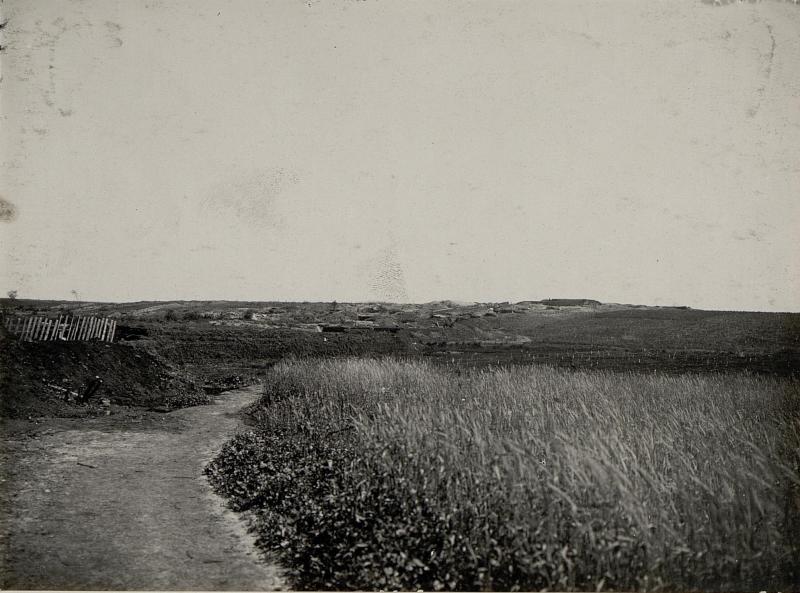 """Abschnitt """"Opal"""" der 14.Kompanie des Infanterieregimentes 75 südlich von Gebrow, aufgenommen am 3. Juni 1916"""