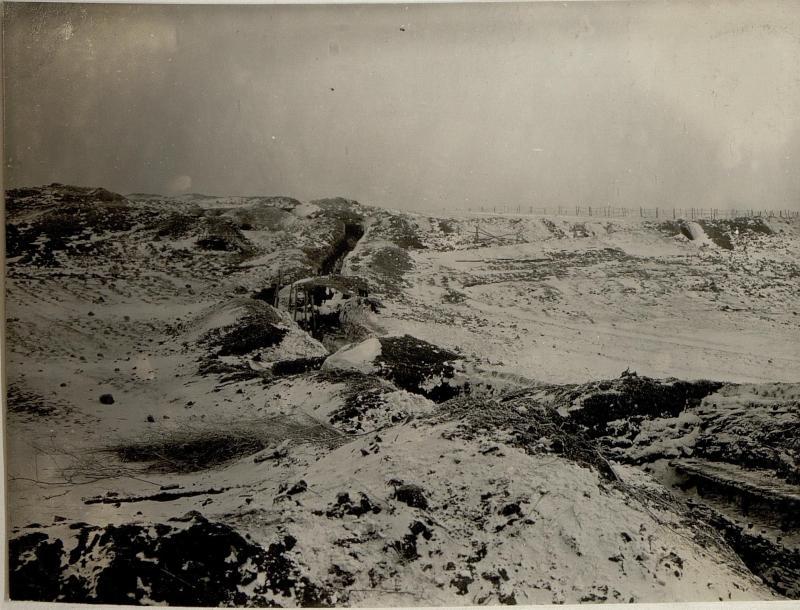 """Abschnitt """"C"""" der 2.Kompanie des Jägerregimentes 6, 9.1.1917"""