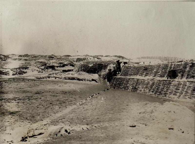"Abschnitt Romanov ""B"" bei beim Infanterieregiment 75 10.1.1917"