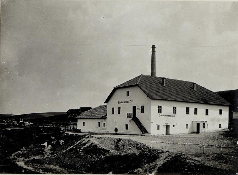 Badehausanstalt der 32 Infanteriedivision in Torhow 1917