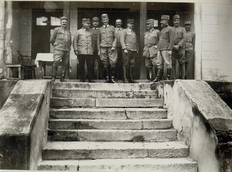 Abschied des Major Grafen Kinsky vom 9.Korpskommando aus Olesko, 1917