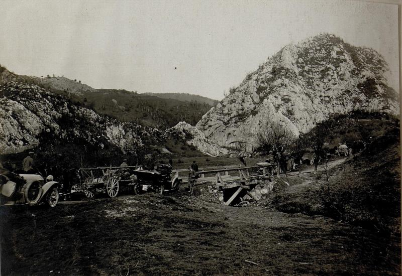 Auf der Strasse nach Petrozseny. 5.11.1916