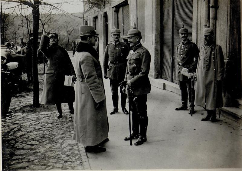 Beim deutschen Kommando in Petrozseny. 5.11.1916