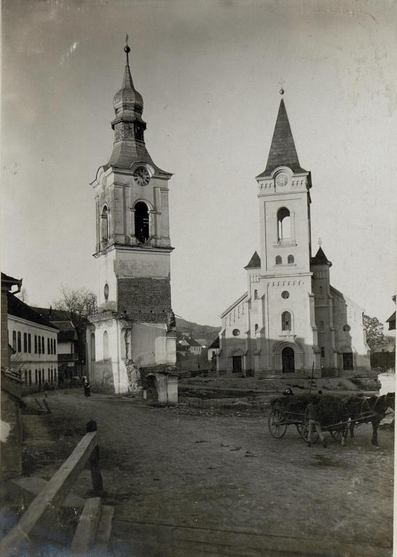 Abgetragene Kirche in Korond. 14.11.1916