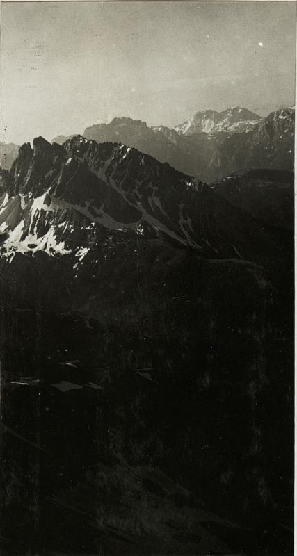 Panorama: Standpunkt  Königswand: Cima dei Longherin.  (2. Teilbild zu  WK1_ALB15_04096a)