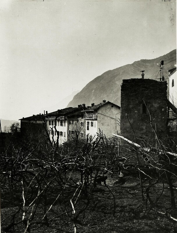 Standpunkt Vezzano: Fliegerwetterstation (Beobachtungs-Turm.)