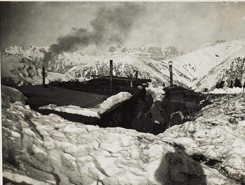 Artillerie Unterstand auf Campo.