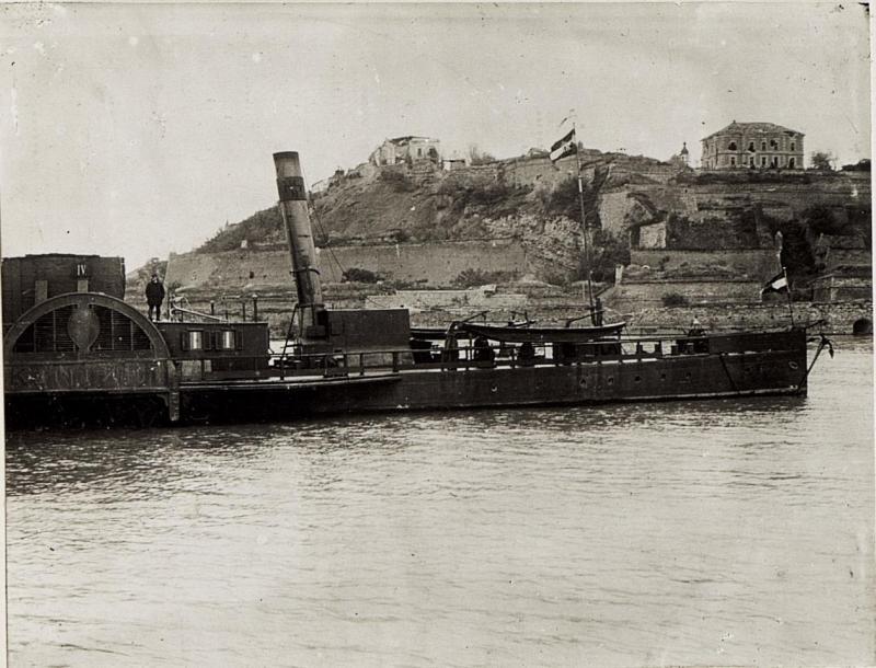 Belgrad, Kalemegdan unmittelbar nach der Einnahme.