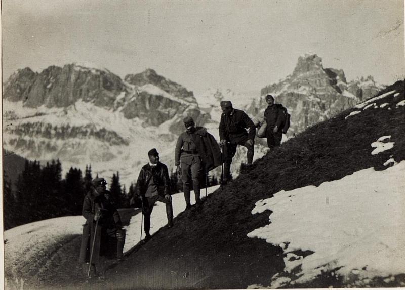 Am Incisa - Sattel, 4.12.1915.