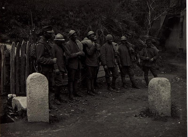 Kriegsgefangene Italiener.