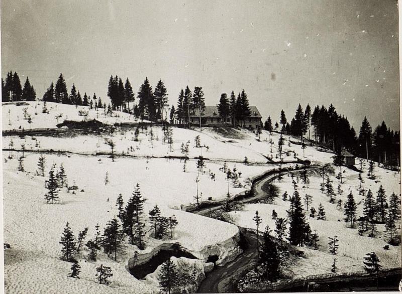 Spital beim 3. Infanteriedivisionskommando.