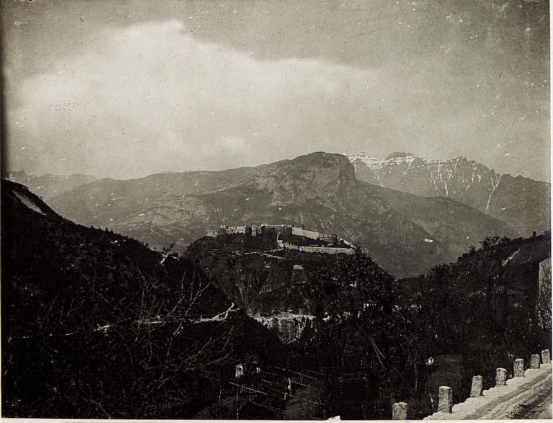 Altes Castell bei Besenello, Calliano.