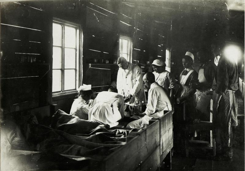 Choleraspital in Vojcica.